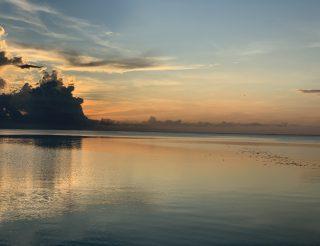 Filibiny, wschód słońca.